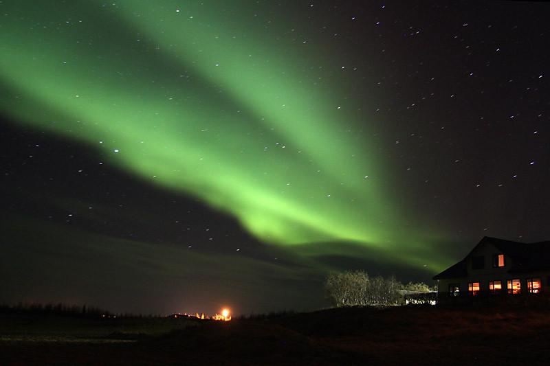 Polarlicht bei Egilsstaðir, Island | Photo: Michael Sandner