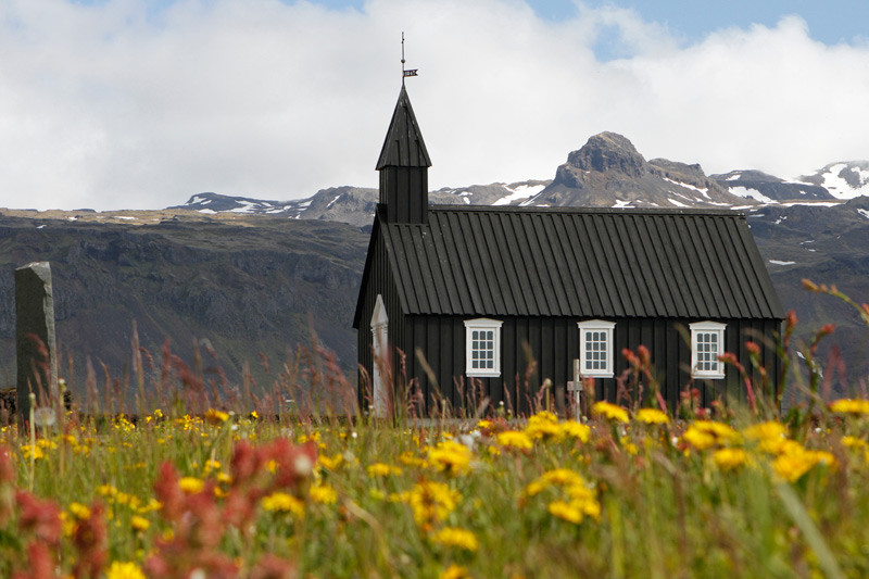Búðakirkja, Island | Photo: Michael Sandner