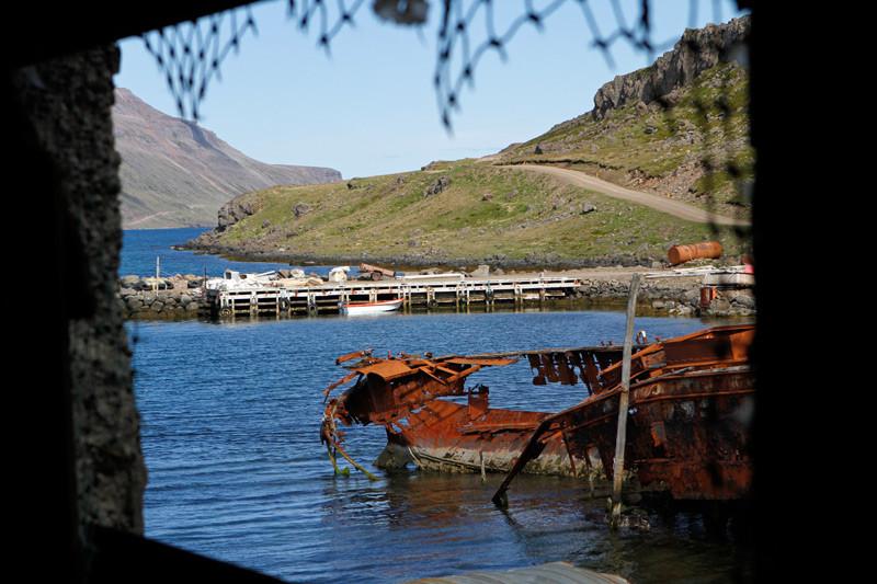 Schiffswrack, Djúpavík, Westfjorde, Island | Photo: Michael Sandner