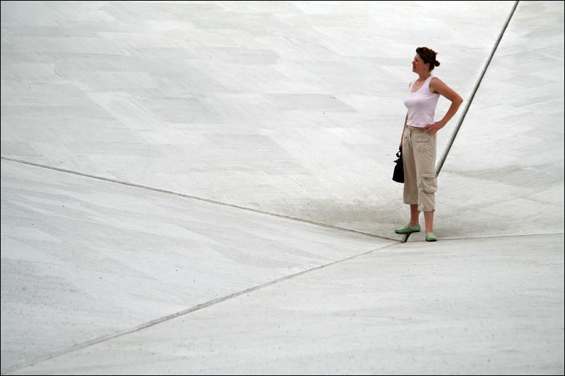 Skulpturprojekte Münster, Bruce Nauman, Square Depression | Photo: Michael Sandner