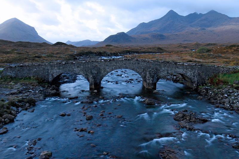 Sligachan Old Bridge, Schottland, Photo: Michael Sandner