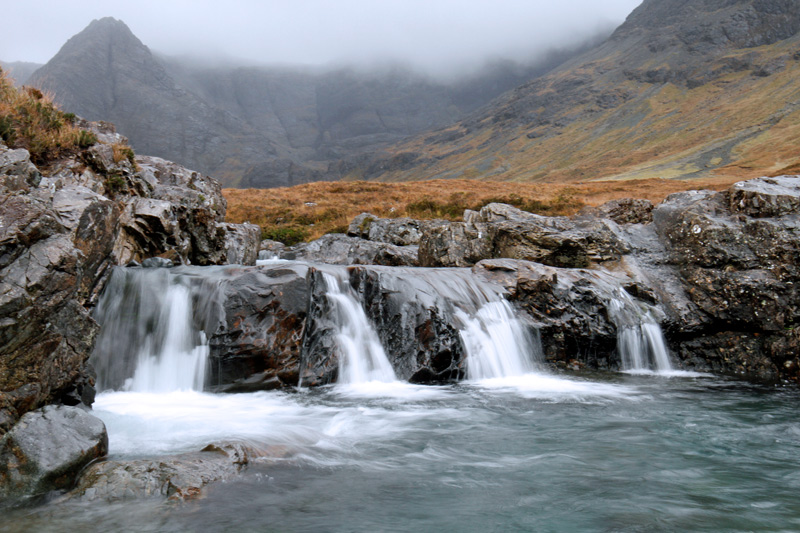 Fairy Pools, Schottland, Photo: Michael Sandner