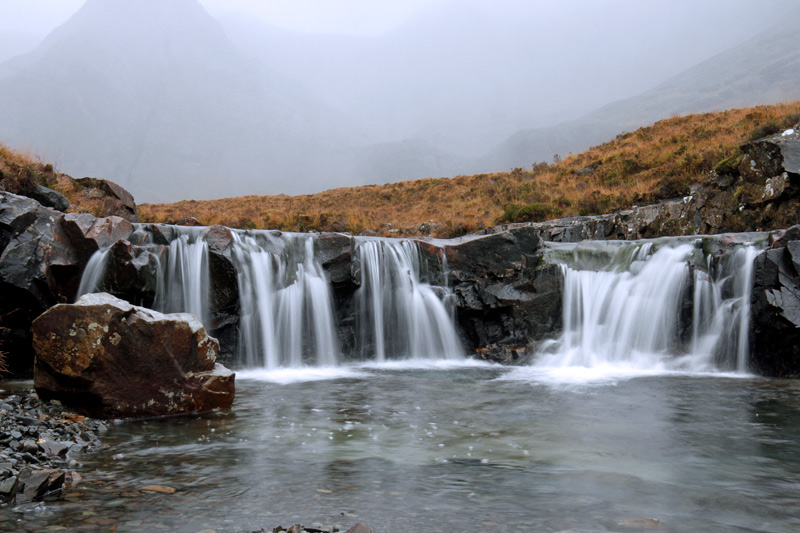Fairy Pools, Schottland, Photo: Michael Sandner