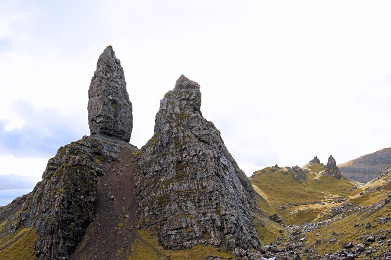 Old Man of Storr, Schottland, Photo: Michael Sandner