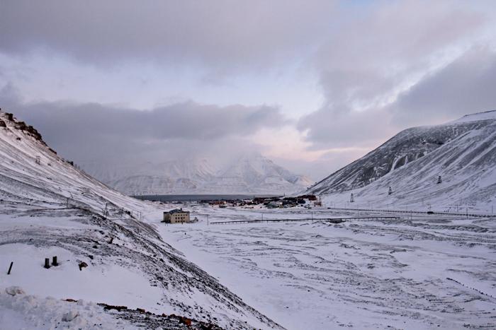 Longyearbyen | Insel Spitzbergen im norwegischen Archipel Svalbard